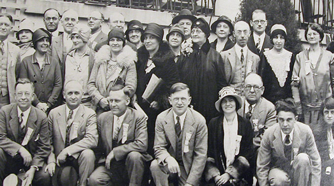 Group of people from 1930